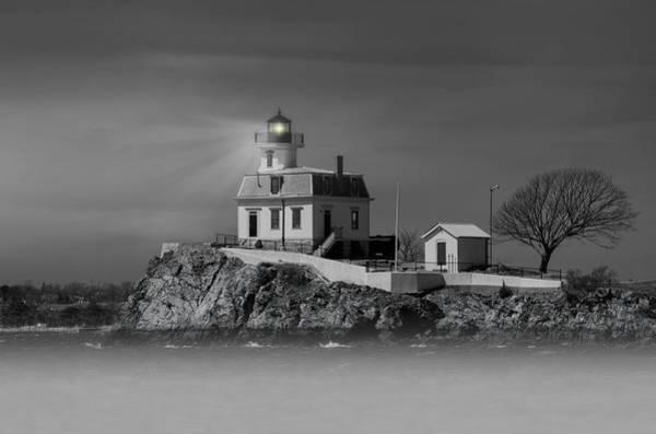 Photograph - Ponham Rock Light by Robin-Lee Vieira