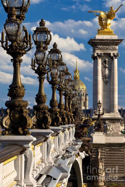 Invalides Photograph - Pont Alexandre IIi by Brian Jannsen