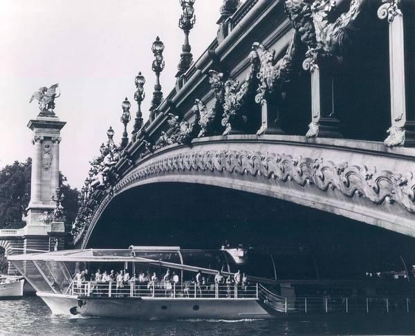 Alexandre Photograph - Pont Alexandre In Paris by Retro Images Archive