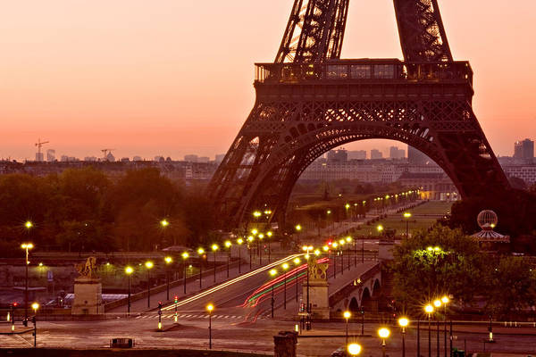 Photograph - Pont D'iena And Eiffel Tower / Paris by Barry O Carroll