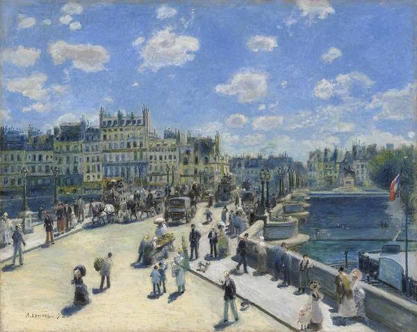 Painting - Pont Neuf by Auguste Renoir