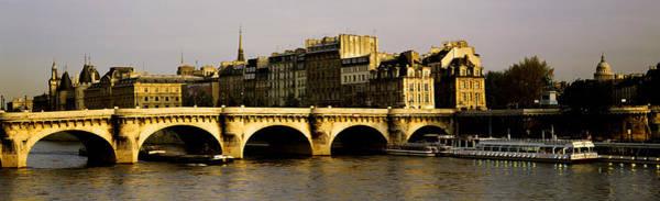 Wall Art - Photograph - Pont Neuf Bridge, Paris, France by Panoramic Images