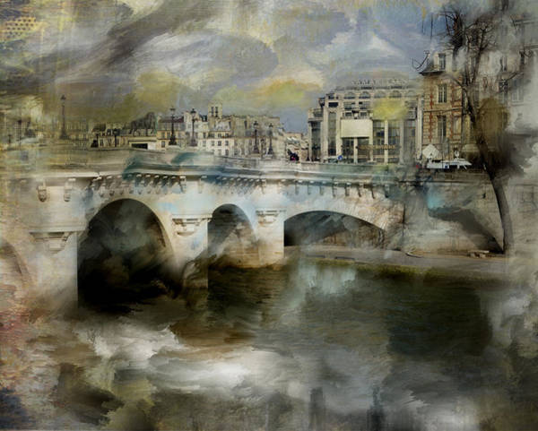 Photograph - Pont Neuf Paris by Evie Carrier