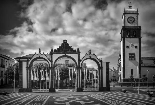 Photograph - Ponta Delgada Gates by Eduardo Tavares