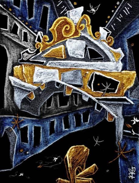 Wall Art - Painting - Ponte Dei Sospiri - Kunst Museum Gallerie Venedig by Arte Venezia