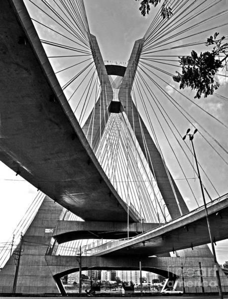 Photograph - Ponte Estaiada Octavio Frias De Oliveira - Sao Paulo by Carlos Alkmin