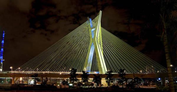 Photograph - Ponte Octavio Frias De Oliveira - Sao Paulo - Exclusive View by Carlos Alkmin