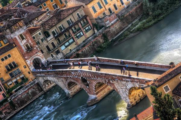 Northern Italy Photograph - Ponte Pietra Verona by Carol Japp