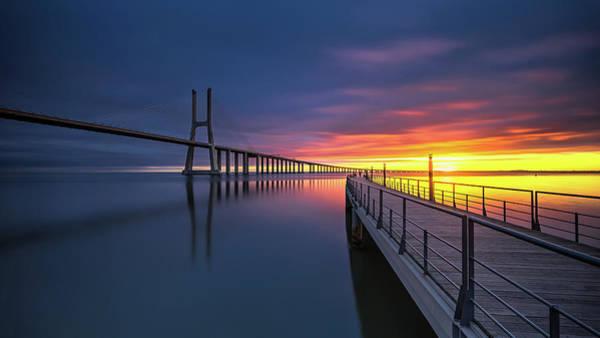 Boardwalk Photograph - Ponte Vasco Da Gama by Rui Ribeiro