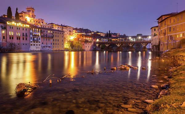 River Photograph - Ponte Vecchio And Brenta River by Massimo Calmonte (www.massimocalmonte.it)