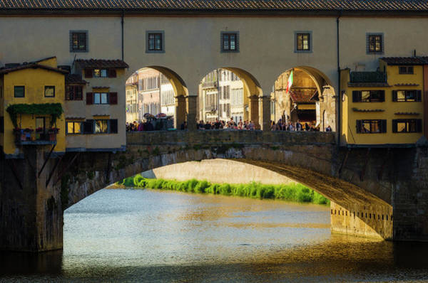 Wall Art - Photograph - Ponte Vecchio And The Arno River by Russ Bishop