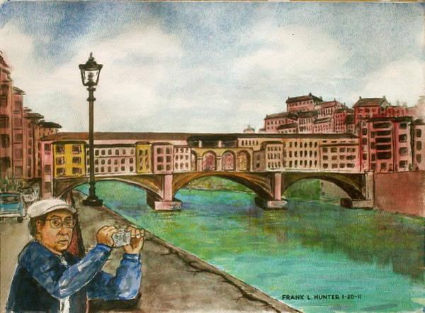 Ponte Vecchio Florence Italy Art Print