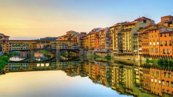 Photograph - Ponte Vecchio In Early Morning by Masahiro Noguchi