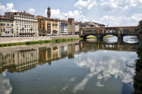 Photograph - Ponte Vecchio On The Arno River by Melany Sarafis