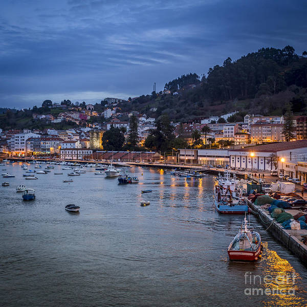Photograph - Pontedeume From The Iron Bridge Galicia Spain by Pablo Avanzini