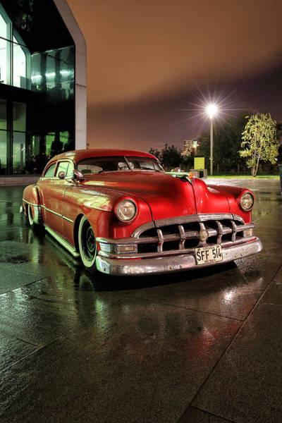 Photograph - Pontiac 1950 by Grant Glendinning