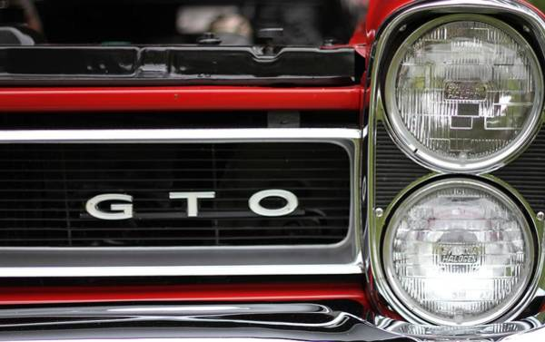 Photograph - Pontiac Gto Front by Dan Sproul