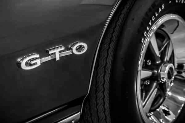 Photograph - Pontiac Gto by Ron Pate
