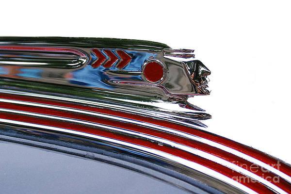 Photograph - Pontiac Hood Ornament by Doc Braham