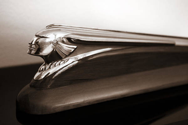 Photograph - Pontiac Indian Chief Hood Ornament by Marilyn Hunt