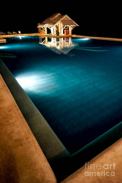 Photograph - Pool Bar by Adrian Evans
