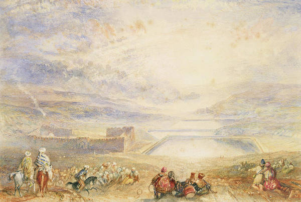 Beam Painting - Pools Of Solomon by Joseph Mallord William Turner