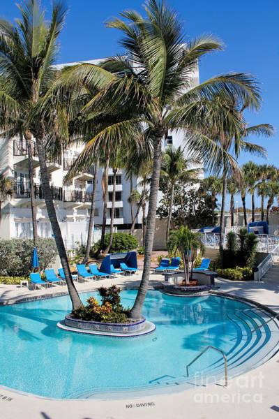 Photograph - Miami Beach Poolside Series 02 by Carlos Diaz