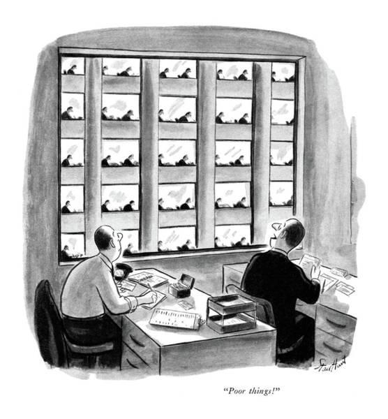 Same Drawing - Poor Things! by Stan Hunt