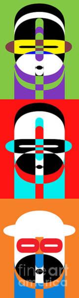 Photograph - Pop Art People Totem by Edward Fielding