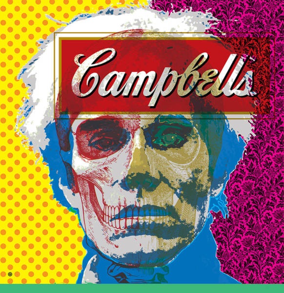 Digital Art - Pop Warhol by Gary Grayson
