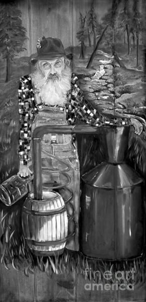 Popcorn Sutton - Black And White - Legendary Art Print