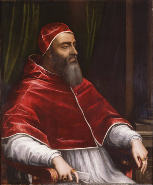 Painting - Pope Clement The 7th by Sebastiano del Piombo