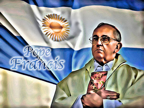 Photograph - Pope Francis by Carlos Diaz