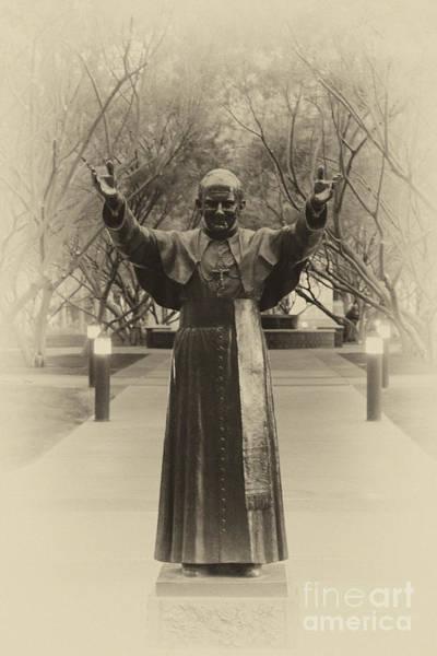 Photograph - Pope John Paul II by Donna Greene