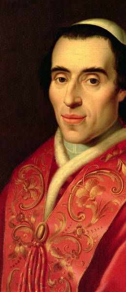 Vatican Painting - Pope Pius Vii by Anonymous