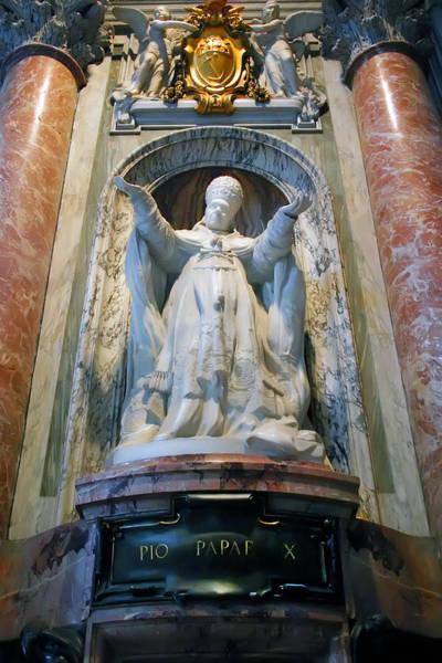 Photograph - Pope Pius X by KG Thienemann