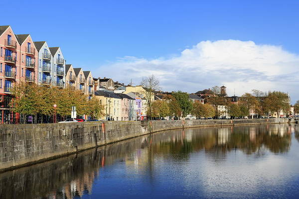 Quayside Photograph - Popes Quay On The River Lee, Cork City by Richard Cummins / Robertharding