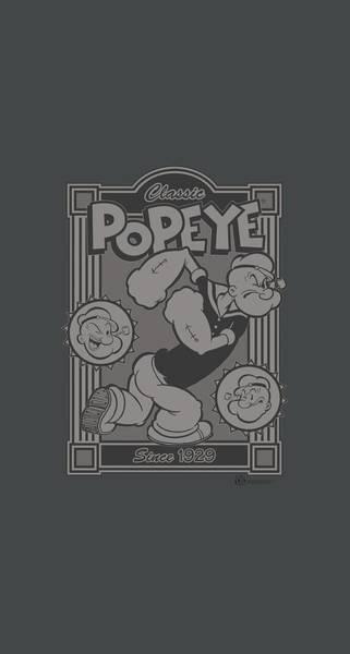 Sailors Digital Art - Popeye - Classic Popeye by Brand A