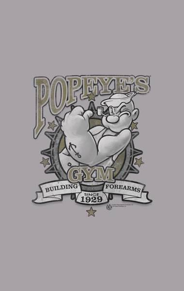 Sailors Digital Art - Popeye - Forearms by Brand A