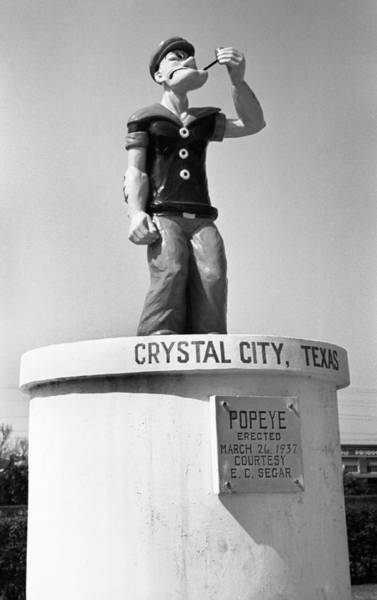 Photograph - Popeye Monument, 1939 by Granger