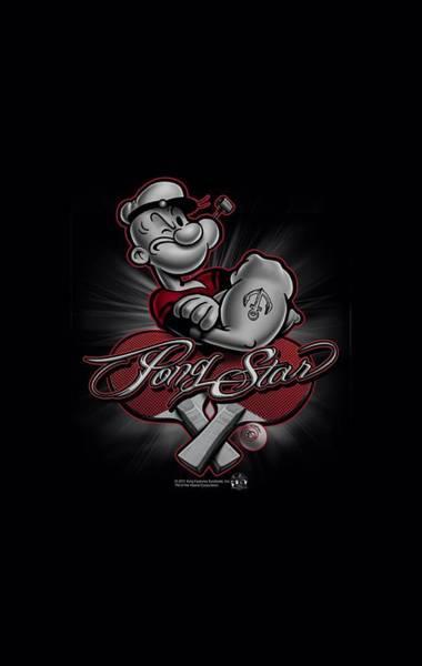Strips Digital Art - Popeye - Pong Star by Brand A