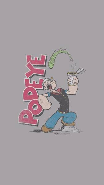 Sailors Digital Art - Popeye - Spinach Power by Brand A