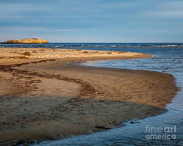 Photograph - Popham Beach Curve by Susan Cole Kelly