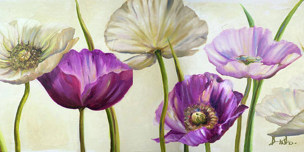 Wall Art - Painting - Poppies In Spring II by Patricia Pinto
