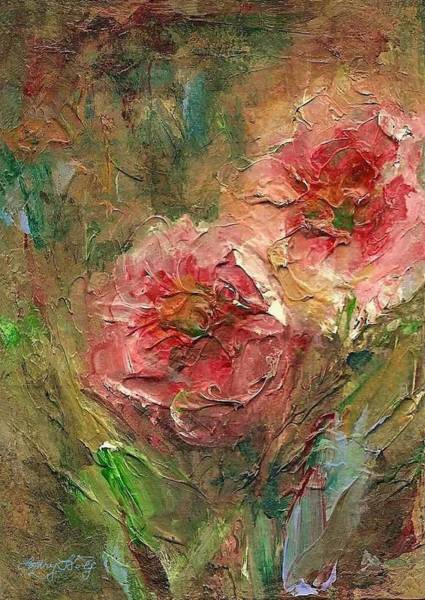 Painting - Poppies by Mary Wolf