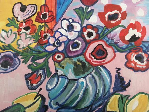 Painting - Poppies With Anemones by Nikki Dalton