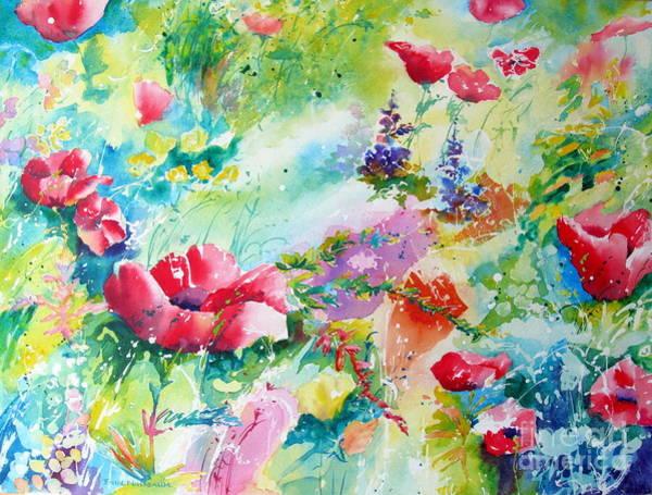 Painting - Poppy Field by John Nussbaum