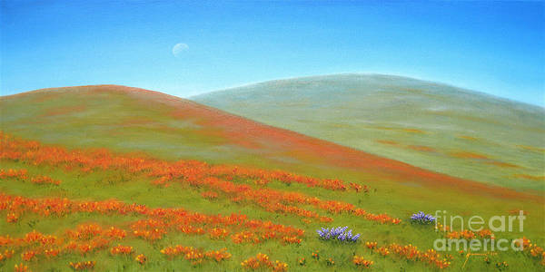 Wall Art - Painting - Poppy Fields by Jerome Stumphauzer