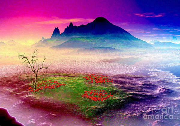 Wall Art - Digital Art -  Beautiful  Island Dreams   by Heinz G Mielke