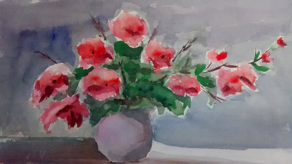 Painting - Poppy Flowers by Mimi Boothby